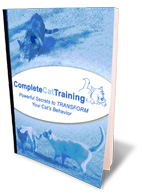 Cat Training In Under 10 Minutes a Day - Magazine cover